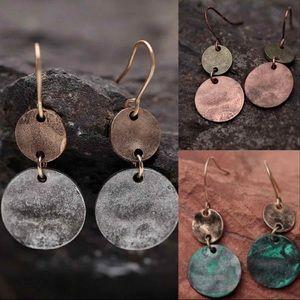 Medallion Dangle Earrings